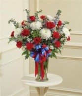 Beautiful Blessings Vase Arrangement  Funeral - Sympathy