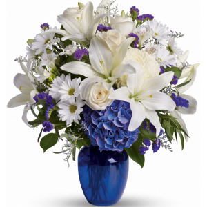 Beautiful Blue and White Vase
