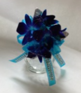 Beautiful Blue Corsage