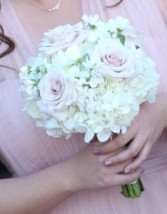 Beautiful Blush  Bridesmaid Bouquet