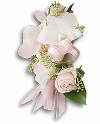 Beautiful Blush Pin-On Corsage Mother's Day Corsage