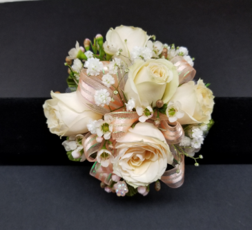 Beautiful Blush Wrist Corsage