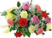 Mixed Carnation Bouquet bouquet