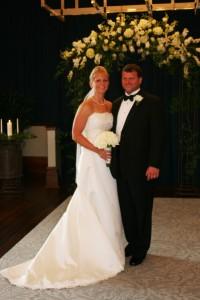 Beautiful Bride Wedding setting