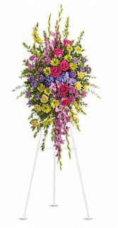 Beautiful & Bright Sympathy Spray
