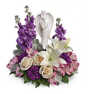 Beautiful Heart Bouquet  Sympathy  in Thibodaux, LA | BEAUTIFUL BLOOMS BY ASIA