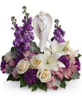 Beautiful Heart Bouquet sympathy arrangements
