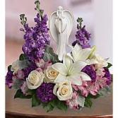 Beautiful Heart Bouquet Sympathy Flowers