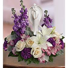 Beautiful Heart Bouquet Sympathy Flowers