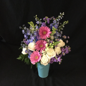 BEAUTIFUL IN BLUE  in Seagoville, TX | WHITE'S FLORIST