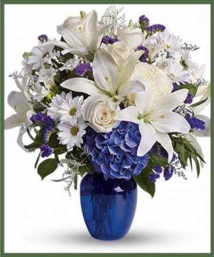 Beautiful in Blue  in Arlington, TX | Lige Green Flowers