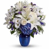 Beautiful in Blue  sku #T209-3C