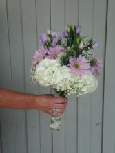 Beautiful in Lavender Wedding Bouquet