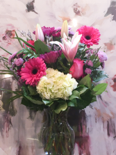 Beautiful in Pink  Vase