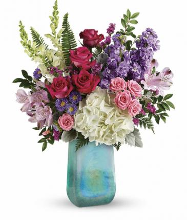 Beautiful Iridescent Beauty Vased Arrangements
