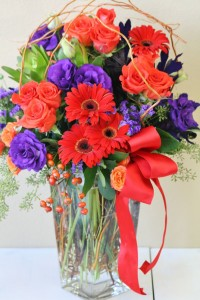 BEAUTIFUL JEWEL Arrangement of Flowers in Riverside, CA | Willow Branch Florist of Riverside