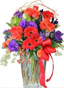 BEAUTIFUL JEWEL Arrangement of Flowers in Riverside, CA | Willow Branch Florist of Riverside