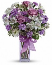 Beautiful Lavender Fresh Arrangement