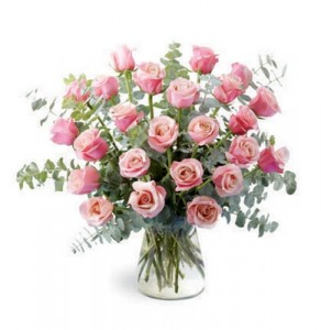 BEAUTIFUL Long Stem Pink Roses  by Enchanted Florist of Cape Coral