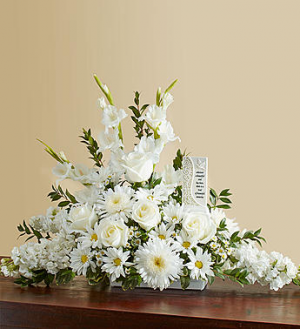 Beautiful Memories - All White  in Valley City, OH | HILL HAVEN FLORIST & GREENHOUSE