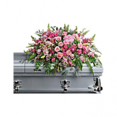 Beautiful Memories Casket Spray T280-6