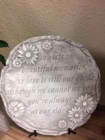 Beautiful Memories Keepsake Stone