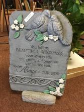 Beautiful Memories Memorial Stone