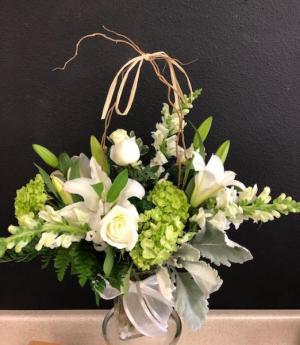 Winter Wonder Luxuary Bouquet in Colorado Springs, CO | Enchanted Florist II