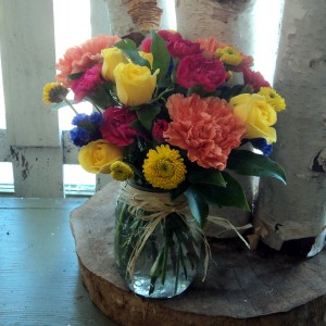Beautiful Morning Bouquet vase arrangement in North Adams, MA | MOUNT WILLIAMS GREENHOUSES INC