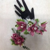 Beautiful Orchid Boutonniere