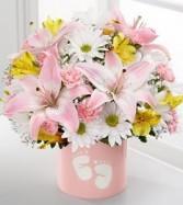 Beautiful Pink Fresh Arrangement