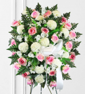 Beautiful Pinks and Whites Standing Spray
