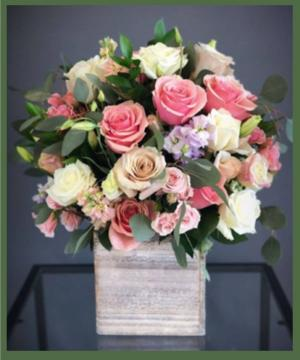 Beautiful Romance PINK by Erinn's Creations in Arlington, TX | Erinn's Creations Florist