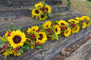 Beautiful Sunflower Bouquets Fresh Bridal Bouquets in Farmville, VA | CARTERS FLOWER SHOP