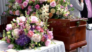 Beautiful Tributes  Two Pieces  in Oakville, ON | ANN'S FLOWER BOUTIQUE-Wedding & Event Florist