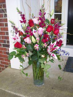 Beautiful Vase Arrangement Anniversary in Stafford, VA | Anita's Beautiful Flowers