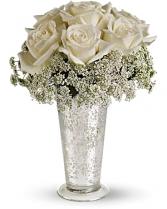 Beautiful White Fresh Arrangement