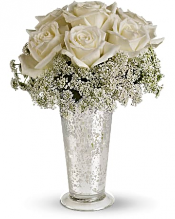 Beautiful White Fresh Arrangement