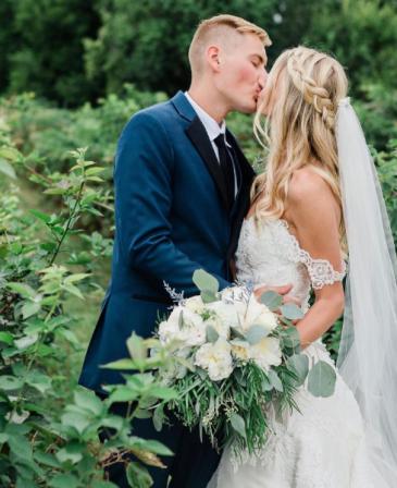Beautiful White Wedding Bouquet Wedding