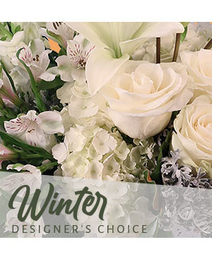 Beautiful Winter Flowers Designer's Choice in Calgary, AB | Splurge Flowers & Gifts