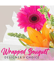 Beautiful Wrapped Bouquet Designer's Choice