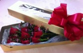 Beautifully Boxed Dozen Roses Roses in a Box