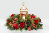 Beautifully Bright Centerpiece Fresh Keepsake arrangement