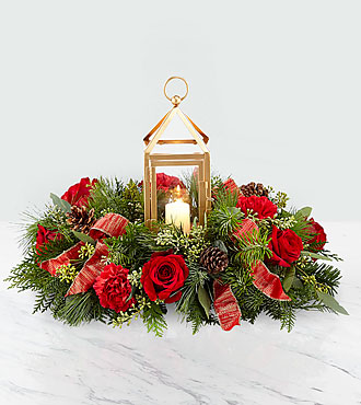 Beautifully Bright Christmas Arrangement