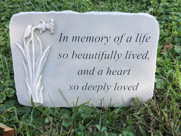 Beautifully Lived Sympathy Keepsake