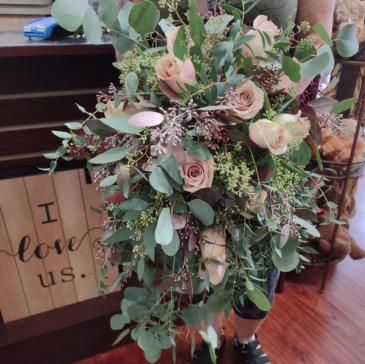 Beautifully spring  bridal