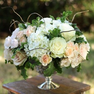 Beautifully Still  White arrangement  in Oakville, ON | ANN'S FLOWER BOUTIQUE-Wedding & Event Florist