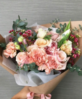 Beautifully Wrapped Bouquet  Designer Flower Choice