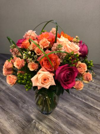 Beauty all around  Vase Arrangement