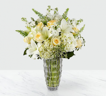 Beauty and Grace Fresh arrangement in a vase